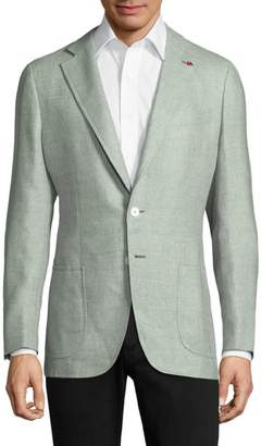 Isaia Regular-Fit Button-Front Jacket