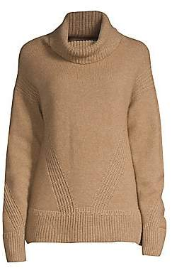 Piazza Sempione Women's Ribbed Turtleneck Sweater