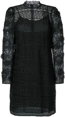 MICHAEL Michael Kors floral mesh lace dress