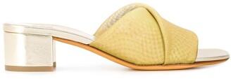 Maryam Nassir Zadeh metallic heeled sandals