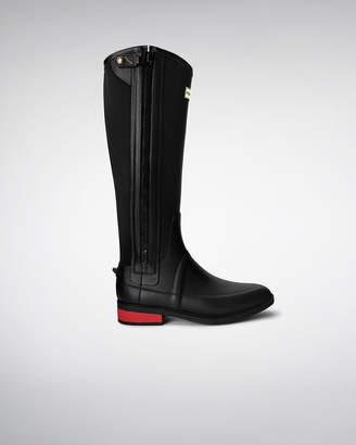 Hunter Men's Wellesley Rubber Riding Boots