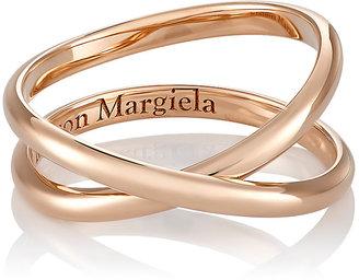Maison Margiela Fine Women's Twisted Midi-Ring $590 thestylecure.com