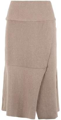 OSKLEN ribbed midi skirt