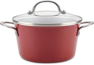 Ayesha Curry 4.5-Qt. Porcelain Enamel Sauce Pot & Lid