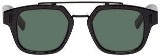 Christian Dior Black DiorFraction1 Sunglasses