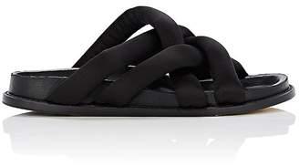 Proenza Schouler Women's Padded Satin Slide Sandals