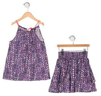 Imoga Two-Piece Sleeveless Top & Skirt Set