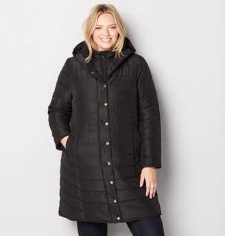 Avenue Long Hooded Vestee Coat