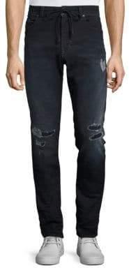 Diesel Thavar Distressed Skinny-Fit Jeans