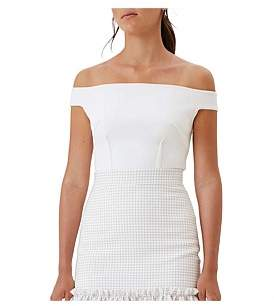 By Johnny Bare Shoulder Structure Top