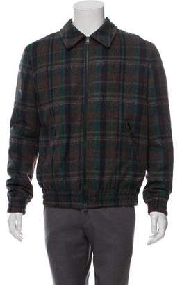 Etro Plaid Wool Casual Jacket w/ Tags