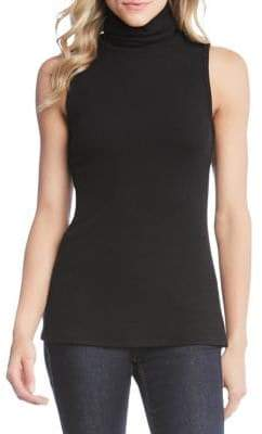 Karen Kane Sleeveless Turtleneck Top
