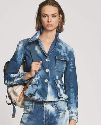 Ralph Lauren Isabele Denim Safari Jacket