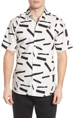 Hurley Print Short Sleeve Shirt