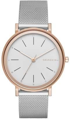 Skagen Women's Hald Mesh Bracelet Watch, 34mm
