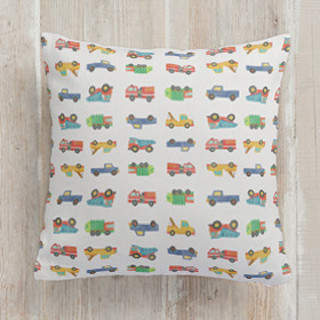Vroom Square Pillow