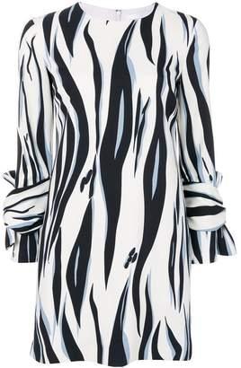 Victoria Beckham Victoria tiger print shift dress