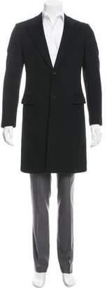 Prada Woven Cashmere Overcoat