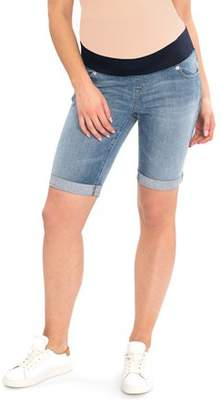 Great Expectations Maternity Denim Bermuda Shorts
