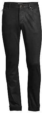 John Varvatos Men's Chelsea Coated Slim-Fit Jeans