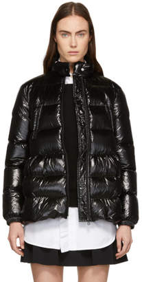 RED Valentino Black Down A-Line Jacket