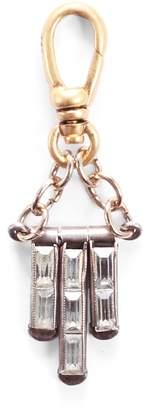 Lulu Frost Vintage Art Deco Crystal Tassel Charm