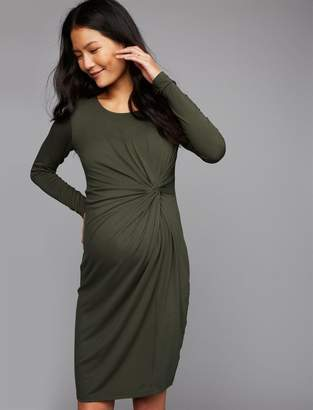 Ripe Knot Front Maternity Dress
