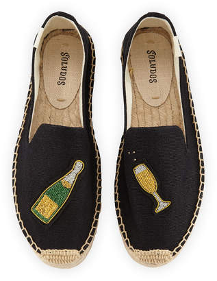 Soludos Cheers Espadrille Smoking Slippers