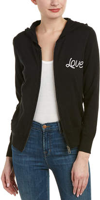 Chaser Zip-Up Cashmere-Blend Hoodie