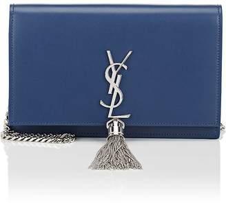 Saint Laurent Women's Monogram Kate Leather Chain Wallet
