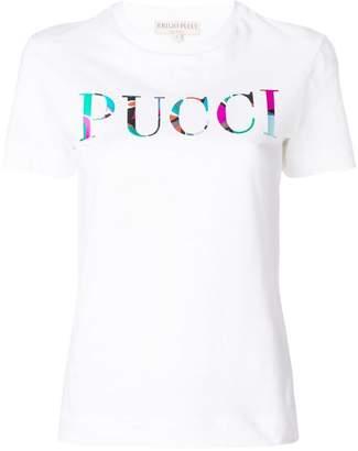 Emilio Pucci logo print T-shirt