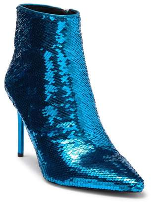 Alice + Olivia Celyn Pointed Toe Sequin Bootie