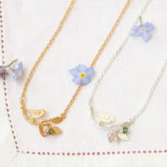 Coleman Amanda Bird On Branch Necklace