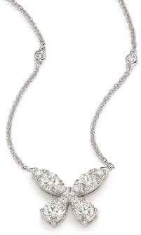 Hearts On Fire Aerial Diamond& 18K White Gold Necklace