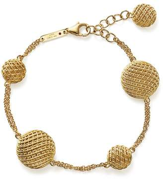 Roberto Coin 18K Yellow Gold Silk Bracelet