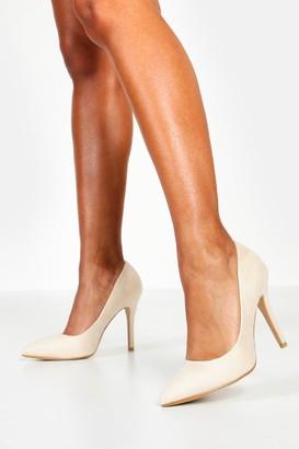 boohoo Pointed Court Heels
