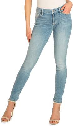 GUESS Power Curvy Mid Rise Jeans