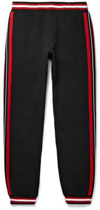 Givenchy Contrast-Trimmed Cotton-Jersey Trousers