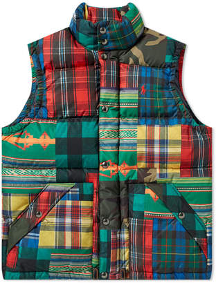 Polo Ralph Lauren Patchwork Down Gilet