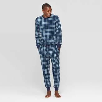 EV Holiday Men's Family Pajama Blue Plaid Set - Blue