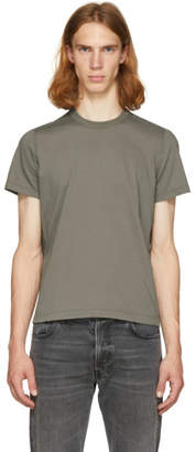 Rick Owens Grey Short Level T-Shirt