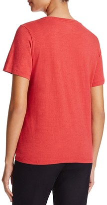Eileen Fisher Organic Cotton Heathered Tee $68 thestylecure.com