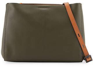 Rag & Bone Passenger Two-Tone Leather Crossbody Bag