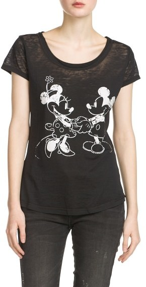 MANGO Outlet Minnie And Mickey T-Shirt