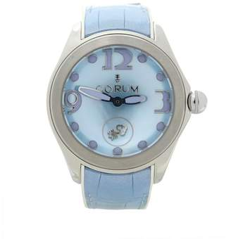 Corum Bubble L295/03047 Stainless Steel & Rubber Mother Of Pearl Dial Automatic 42mm Womens Watch