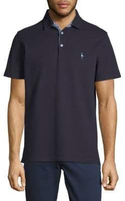 Tailorbyrd Undercollar Short-Sleeve Polo
