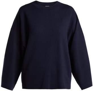 Allude Wide-sleeve wool sweater
