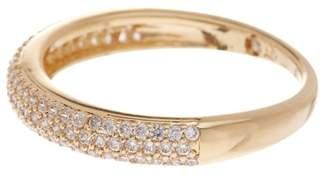 Nadri Pave CZ Thin Band Ring- Size 6
