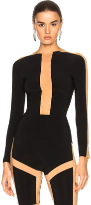 Norma Kamali Spliced Top