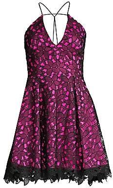Milly Women's Kira Lace Mini Dress